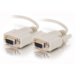 DB9 Female to Female Null Modem Cables