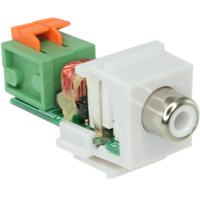 Video Balun Keystone Jacks