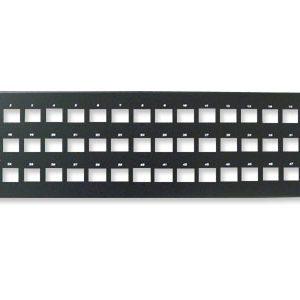Unloaded Keystone Patch Panels