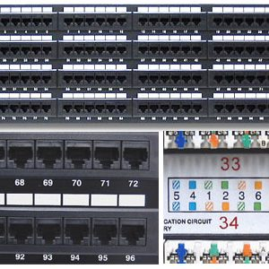 Cat6/Cat6a Patch Panels