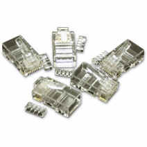 Network Cat5/5e/6/6a Connectors